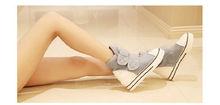 womens autumn winter casual ankle boots canvas sport buckle rivet sneakers shoelace anti slip shoes platform