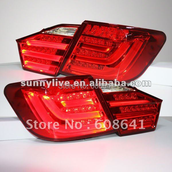 For TOYOTA Camry Aurion LED Rear Lamp 2012 -13 year Red Color V1