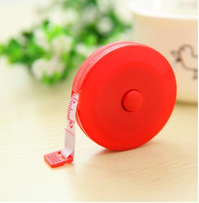 New Arrival Hot Mini Round Shape Sewing Tailor Dieting Cloth Measuring Ruler Tape 60Inch 150Cm