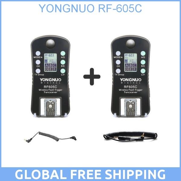 YONGNUO RF605C RF 605C RF 605 C Wireless Flash Trigger for Canon upgrade version of RF603II