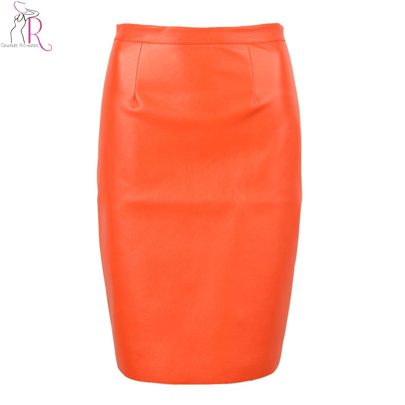 Женская юбка 2016 PU