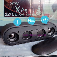 2016 new P+ Bluetooth Speaker with Logo 3D stereo surround and deep bass music wireless speaker good sound good quality logo box