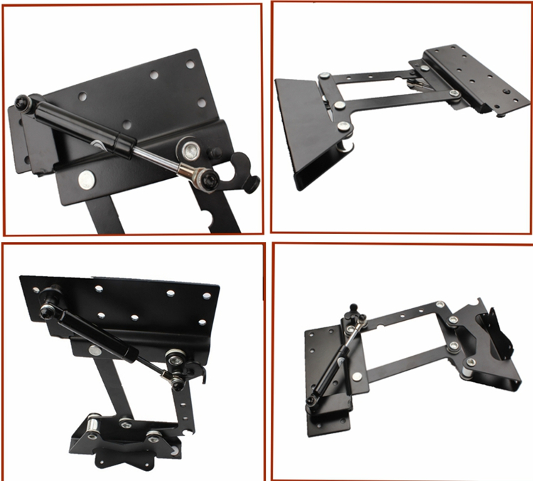 furniture design hydraulic table lifting mechanism,spring assist pop up coffee table mechanism, table top swing up(China (Mainland))