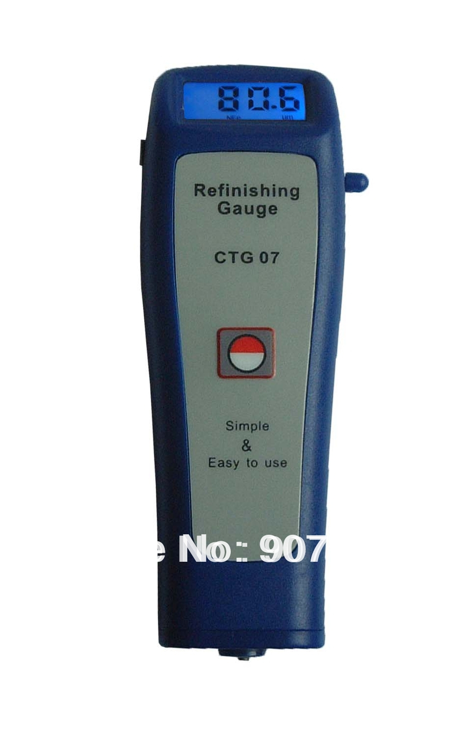 New CTG-07 Digital Coating Thickness Gauge Paint Meter Tester Built in F + NF Probes 0.0 - 1250 um/0.0 - 50 mil<br><br>Aliexpress