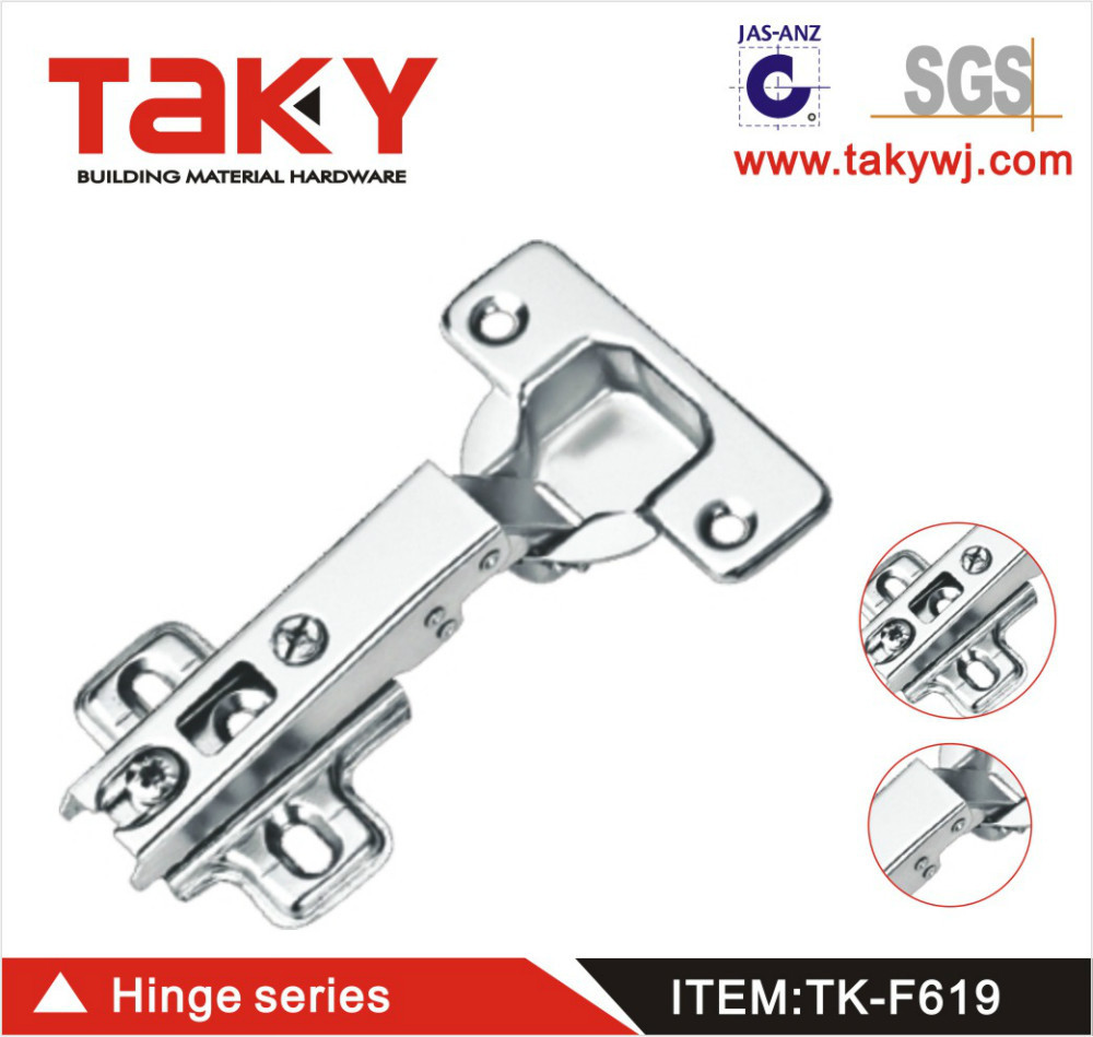 TK-F619 slide on self closing concealed one way hinge for furniture cabinet(China (Mainland))
