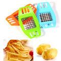 Kitchen supplies French Fry Plastic Potato Chip Cut Cutter Vegetable Fruit Slicer Chopper Chipper Blade 1pcs