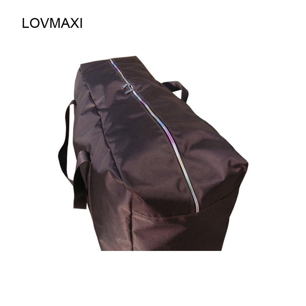 LOVMAXI Side zipper water oxford fabric bag large capacity portable travel bag luggage checked bag big bags(China (Mainland))