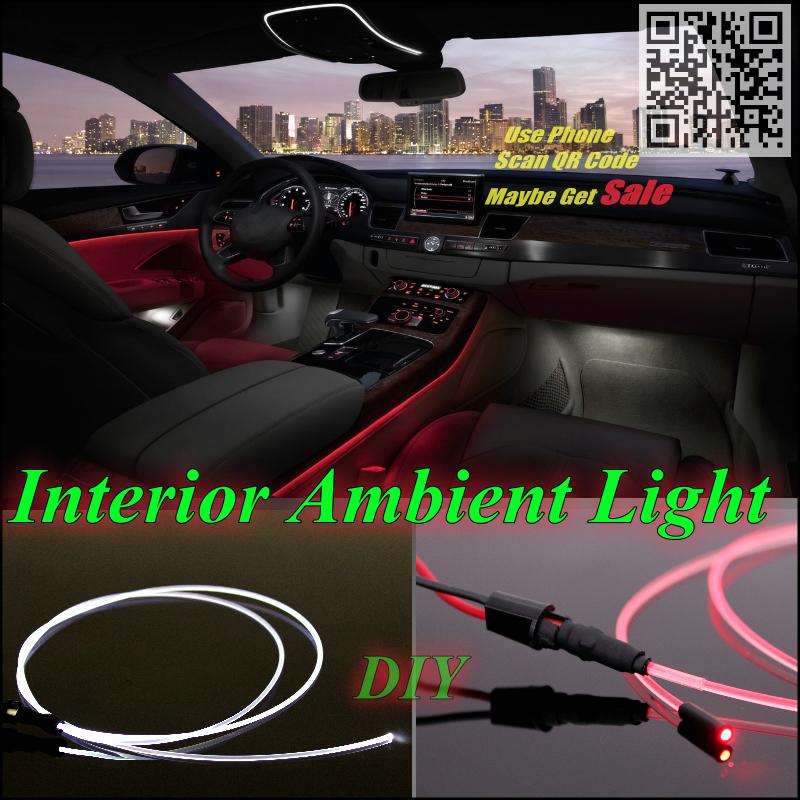 Opel Vectra / B C D Car Interior Ambient Light Panel illumination Inside Cool Strip Optic Fiber Band - GrandTour Store store