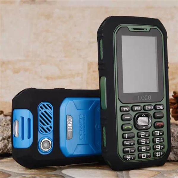 2.8'' High Resolution Screen Military phone A9000 Big Battery Long Standby Power Bank Cell Phone Bluetooth FM Radio GSM Dual Sim(China (Mainland))