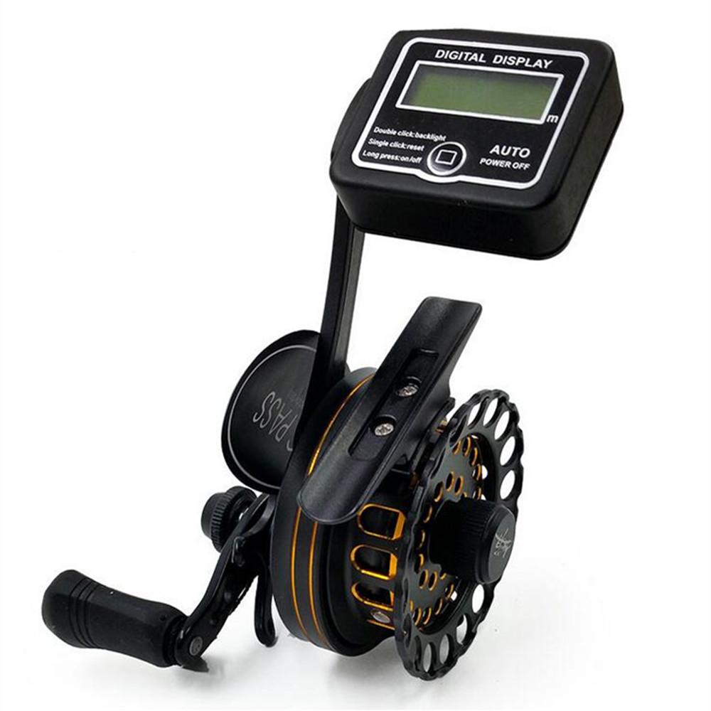 Double Brake Smart Electronic CNC Reel 7+1 Ball Bearing Fishing Gear Water Drop Wheel Right/Left Hand Bait Casting Fishing Reel(China (Mainland))