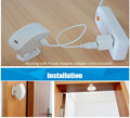 Wireless Curtain PIR Motion Sensor Detector Pasive Infraid Sensor Low Power Circuit Design 433MHz For Alarm