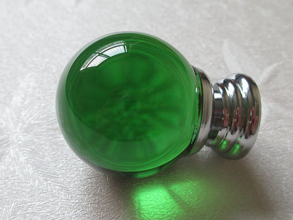 Green Glass Knobs Crystal Knob Green Drawer Knobs Dresser Pulls Handles Modern Kitchen Cabinet Knobs Silver Decorative Hardware<br><br>Aliexpress