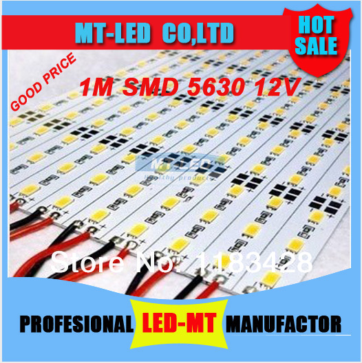 X100meters wholesale Led counter hard led strip SMD 5630 led 72led /meter showcase led strip jewelry counter with lights(China (Mainland))
