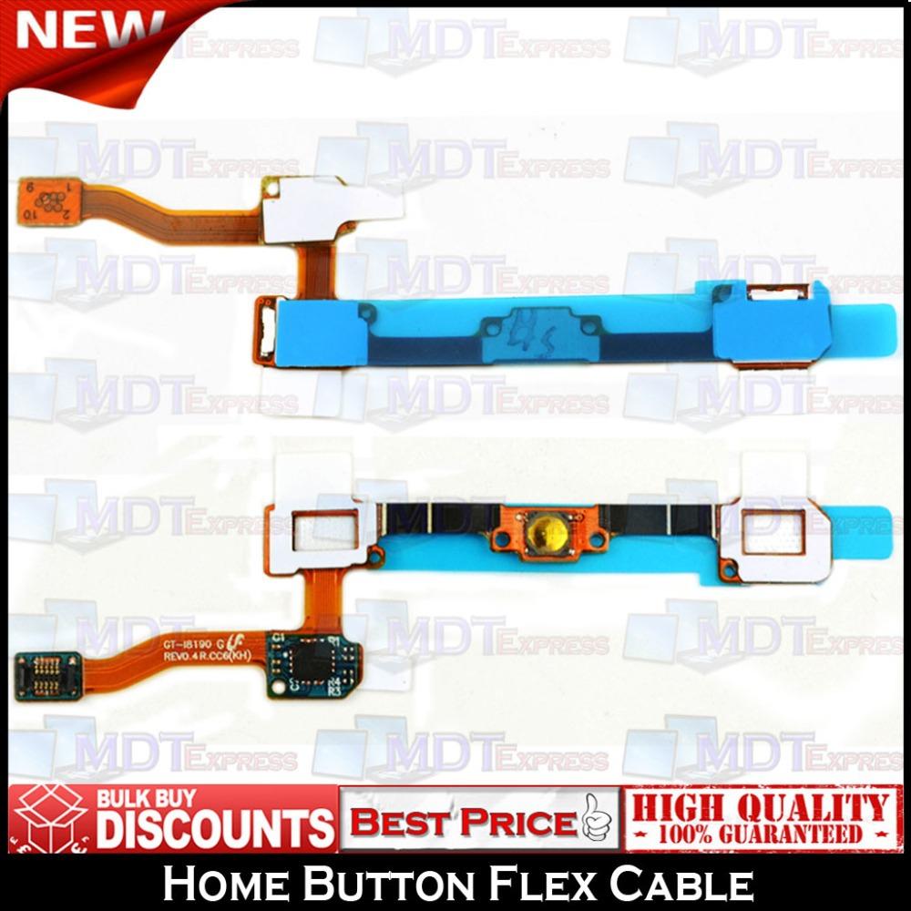 New! Home Key Button Touch Sensor Keyboard Keypad flex cable ribbon For Samsung Galaxy S3 mini i8190(China (Mainland))