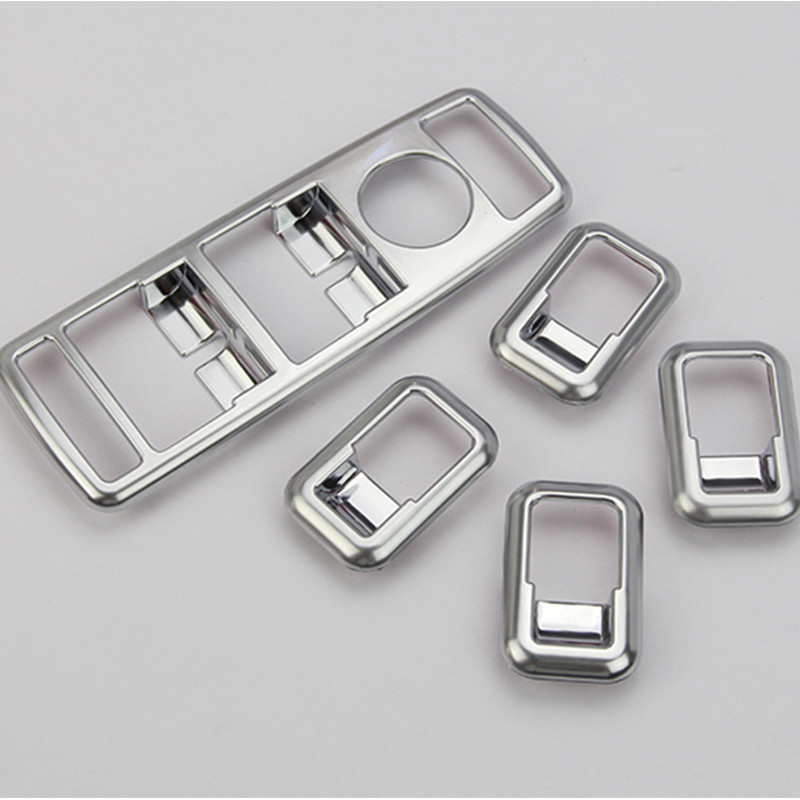 Chrome Window Glass Button Swith Panel Mercedes Benz W176 B W246 C W204 E W212 CLA W117 CLS W218 GLK Accessories - Professional Car Price store