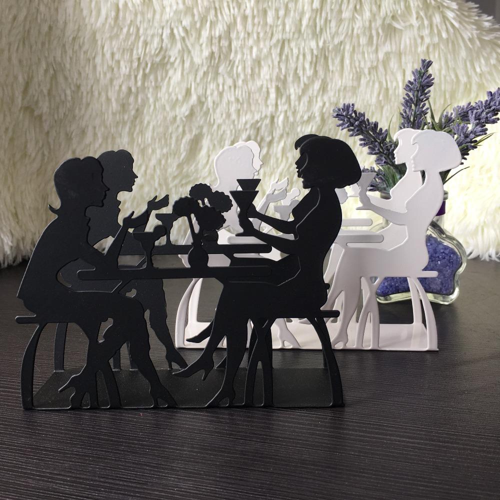 Handdoekenrek Keuken Rvs : Keuken ijzer art craft leisure man vrouwen koffie servet papier houder