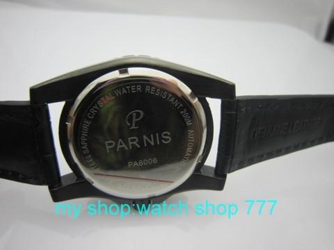 44 ММ PARNIS часы Автоматические механические движения мужские часы оптовая часы PVD 2016 новая мода X00026