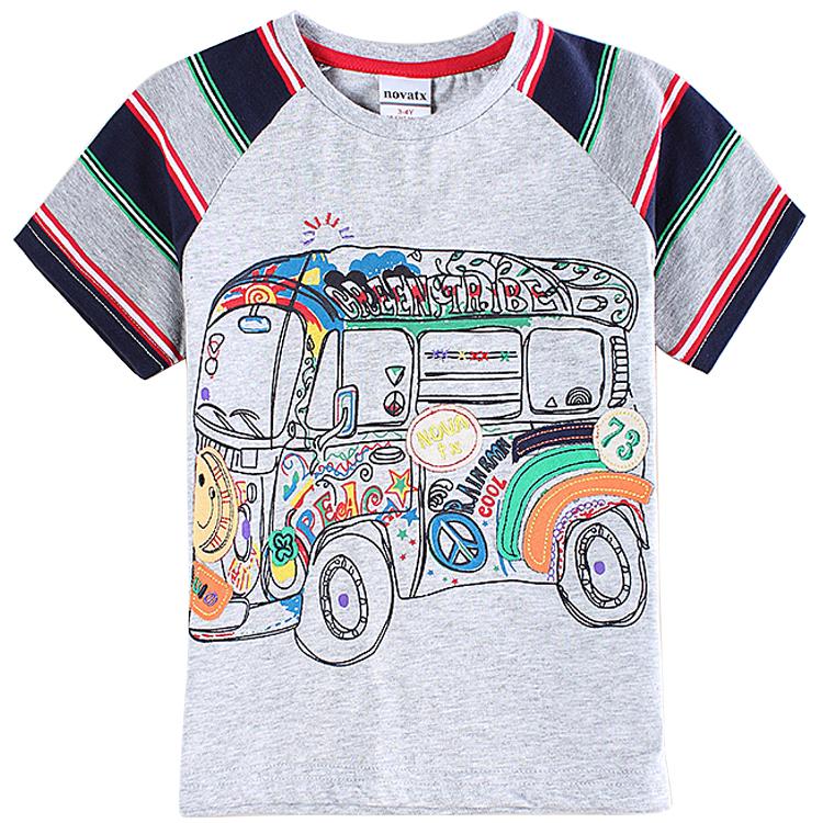Футболка для мальчиков NOVATX 2015 t o t C5999 мужская футболка no brand 2015 t t o 444