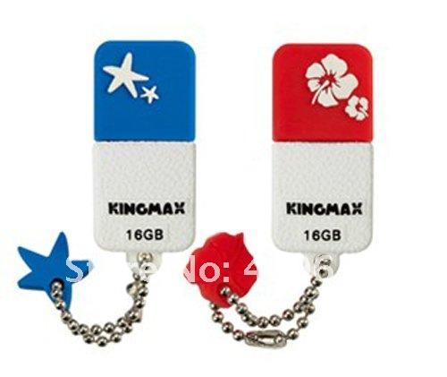 genuine 2G/4G/8G/16G/32G usb flash memory stick usb flash drive plastic kingmax keychain Free shipping wholesale 10pcs/lot(China (Mainland))