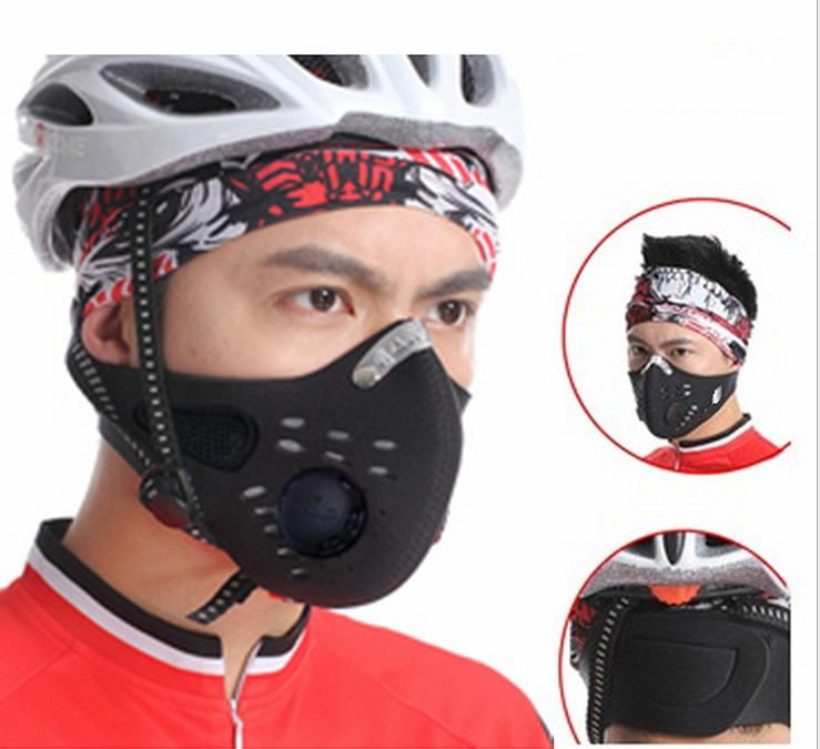 Mouth Air Filter Outdoor Sports Mask Filter Air