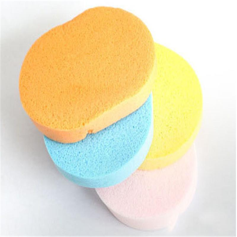 Magic Face Wash Cleaning Sponge Cosmetic Puff wash face sponge makeup tools Cleaner Flutter Corneous(China (Mainland))
