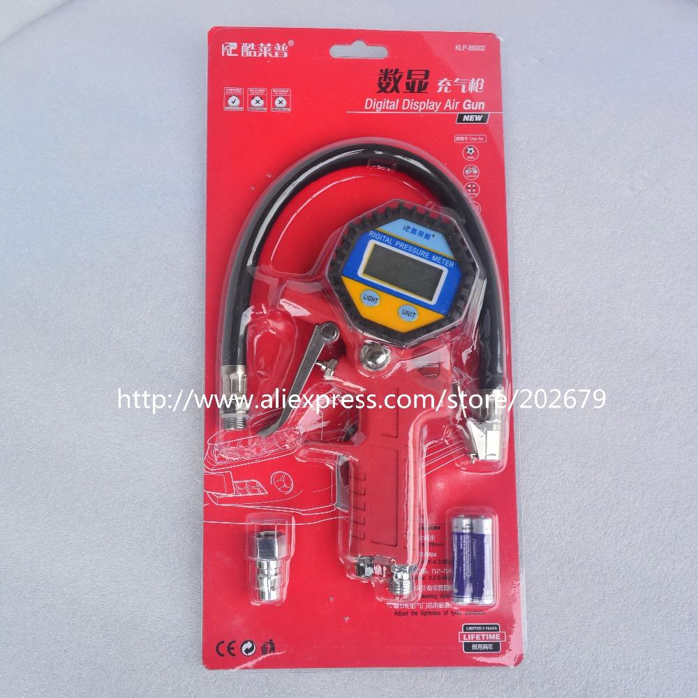 Tire pressure gun car tires motorcycle tire Air Inflator Gun Digital pressure gauge(China (Mainland))