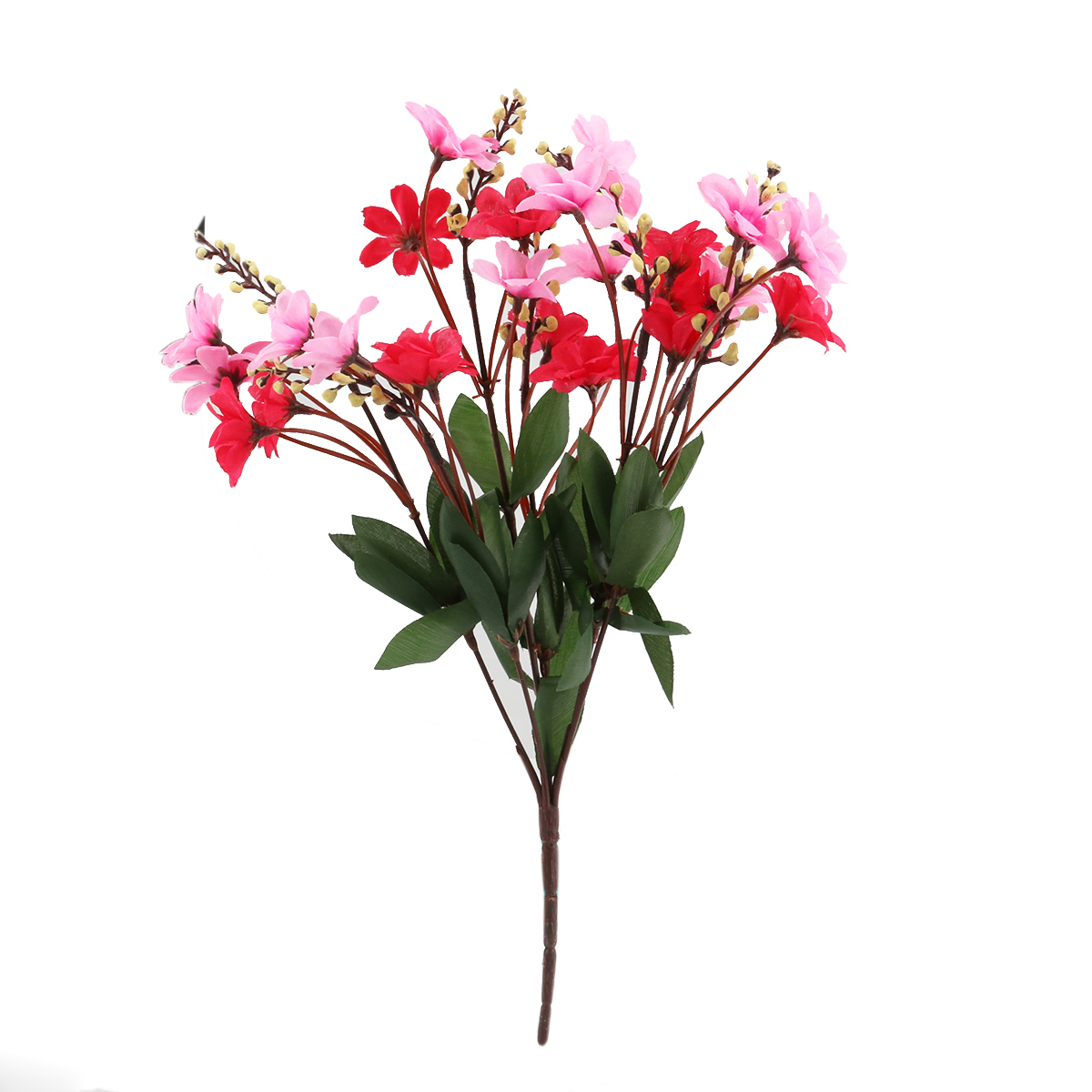 2017new Hot Bunch of Artificial Daisy Flower Bouquet for Office / Home / Party Decoration Real-Like (Rose Red+Pink)(China (Mainland))