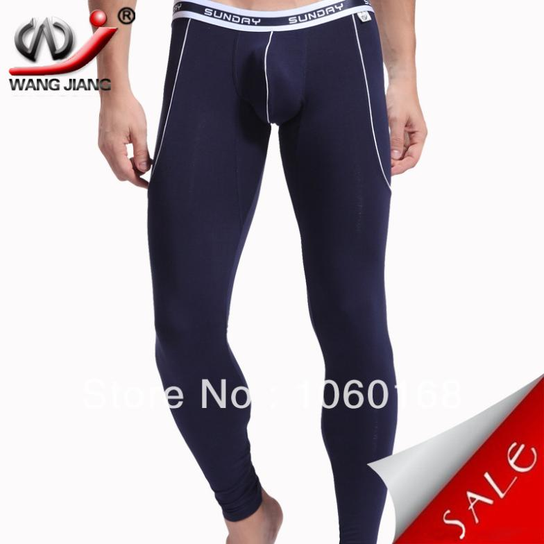 Winter WJ thermals for men with sexy long underwear in high quality men long pants Thermal underwear keepwarm item 3004-CKU(China (Mainland))