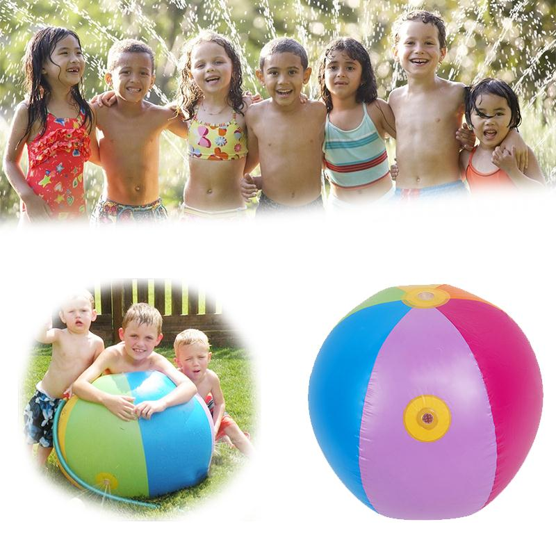 Inflatable Water Ball Kids Pool Swimming Splash Play Party Water Game Toy Inflatable Beach Ball(China (Mainland))