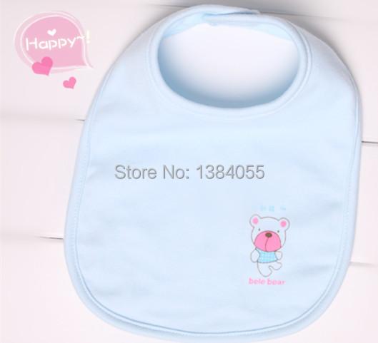 baby bib Styles Wholesale Baby Girl Boy Towel Saliva Waterproof New Kids Cartoon Pattern 3 Layer Toddler Lunch Bibs Burp Cloths(China (Mainland))