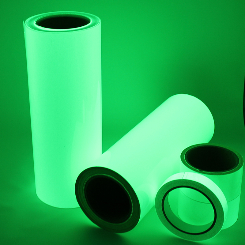 Free Shipping One Roll 10M Luminous Tape Self-adhesive Glow In The Dark Safety Stage Home Decorations Warning Tape