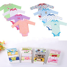 5 Pieces/lot Baby Bodysuit High Quality Infant Jumpsuit Overall Short Sleeve Body Suit Baby Clothing Set Summer 100% Cotton(China (Mainland))