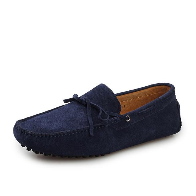 2016 новое поступление свободного покроя мужская обувь мода замши бездельников мокасины ...