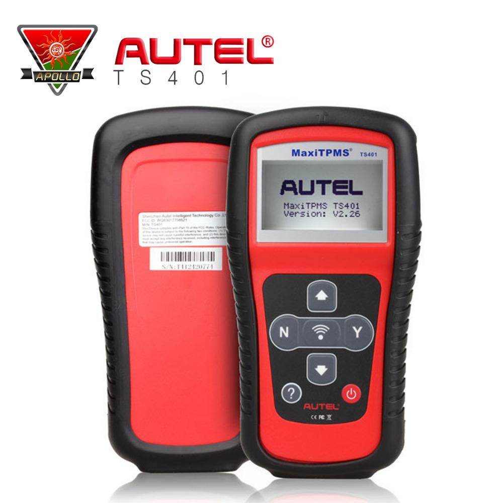 Professional TPMS diagnostic & service tool Autel MaxiTPMS TS401 Set & Correct Tire Pressure Monitor System sensor coverage(China (Mainland))
