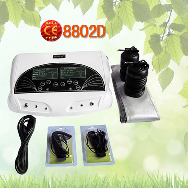 High quality unique new boxy ionizer cleanse foot spa(China (Mainland))
