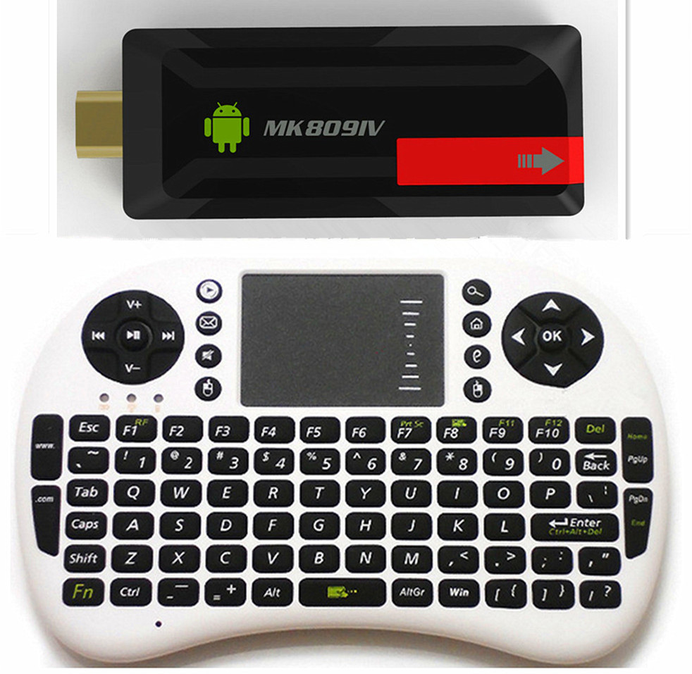 MK809IV +UKB500 RK3188T Quad Core 1.4GHz TV Stick dongle 2G/8G Android MINI PC 1080P Android Miracast Kodi fully load tv dongle(China (Mainland))