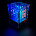 2016NEW keyestudio 4 4 4 RGB LED CUBE KIT for Arduino