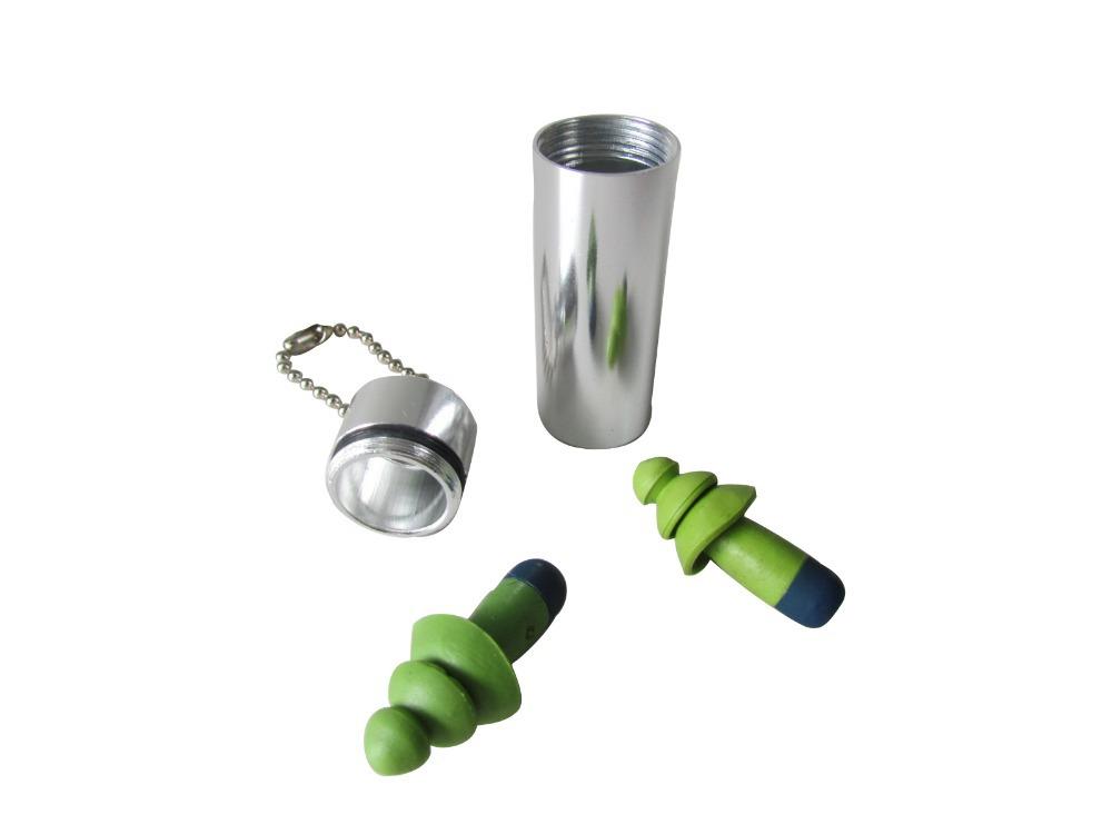 Гаджет  Tourbon Soft Silicone Shooting Ear Protection Noise Silicone Ear Plugs For Sleeping None Безопасность и защита