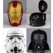 New Coffee Star Wars Mug Cup Beer Cup Wine Cup With Lid Black Plastic Cup& Mugs tazas cafe Darth Vader Coffee Mug(China (Mainland))