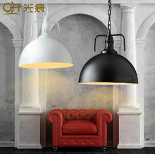New Year RH LOFT Pendant Lights American Country Vintage Industrial Light Nordico Hanging Lamp Fixtures Edison Iron Lampshade