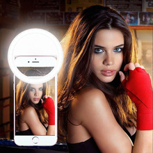 Mobile phone beauty lights LED lights self timer artifact USB flash charging anchor live spot manufacturers