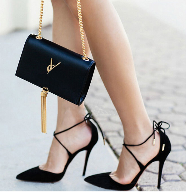 2015 New Black Suede Pointed Toed Lace-up Shallow Mouth Sexy Stiletto High Heels Cheap Fashion Large Size 40 Women Pumps(China (Mainland))