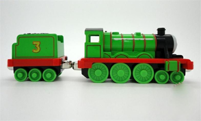 Thomas & Friends Thomas The Tank Engine Metal Magnet Trains -- Henry and Henry's Tender(China (Mainland))