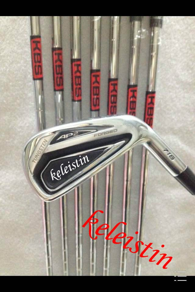 Hot sell brand AP Golf Irons 2 Clubs 716 Golf Forged Irons With Steel Shaft Golf 716 Irons Brand golf AP2-716 irons sets(China (Mainland))