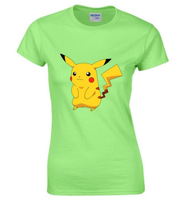 font b pokemon b font font b go b font Shirt 2016 Summer Tops T