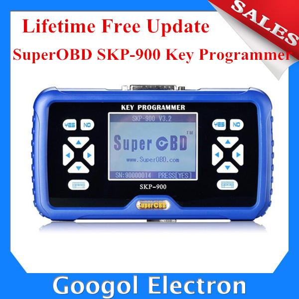 SuperOBD SKP-900 OBD2 Key Programmer V3.5 SKP900 Key Programmer SKP 900 SKP900 Auto Key Programmer Support Almost All Cars(Hong Kong)