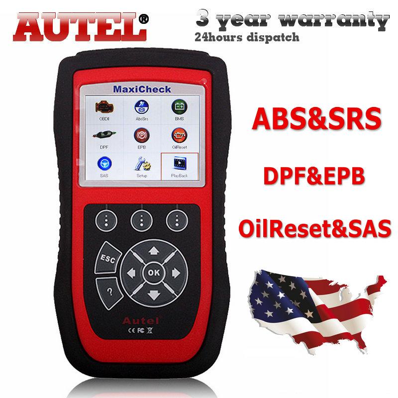 100% Original Autel MaxiCheck Pro ABS/SRS/SAS/BMS/EPB Function Diagnostics Interface Electronic Park Brake service tool(Hong Kong)