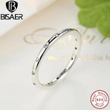 100% 925 Sterling Silver Droplets Stackable Finger Classic Ring For Women Compatible with Sterling Silver Jewelry Accessories
