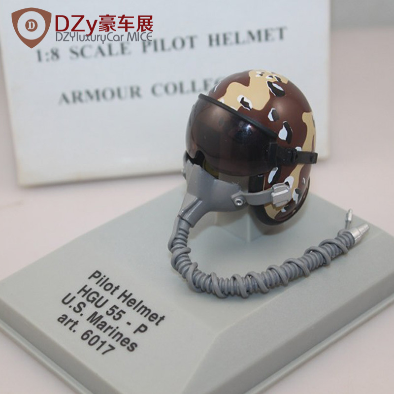CDC Armour 1:8 Scale Pilot Helmet HGU 55-P U.S. Marines #6017 Diecast<br><br>Aliexpress
