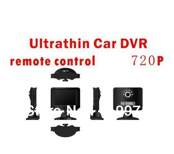 WHOLESALE 2.7-inch tv HD 720P Car dvr with Remote part HDMI out built-in battery file locking function screen saver function